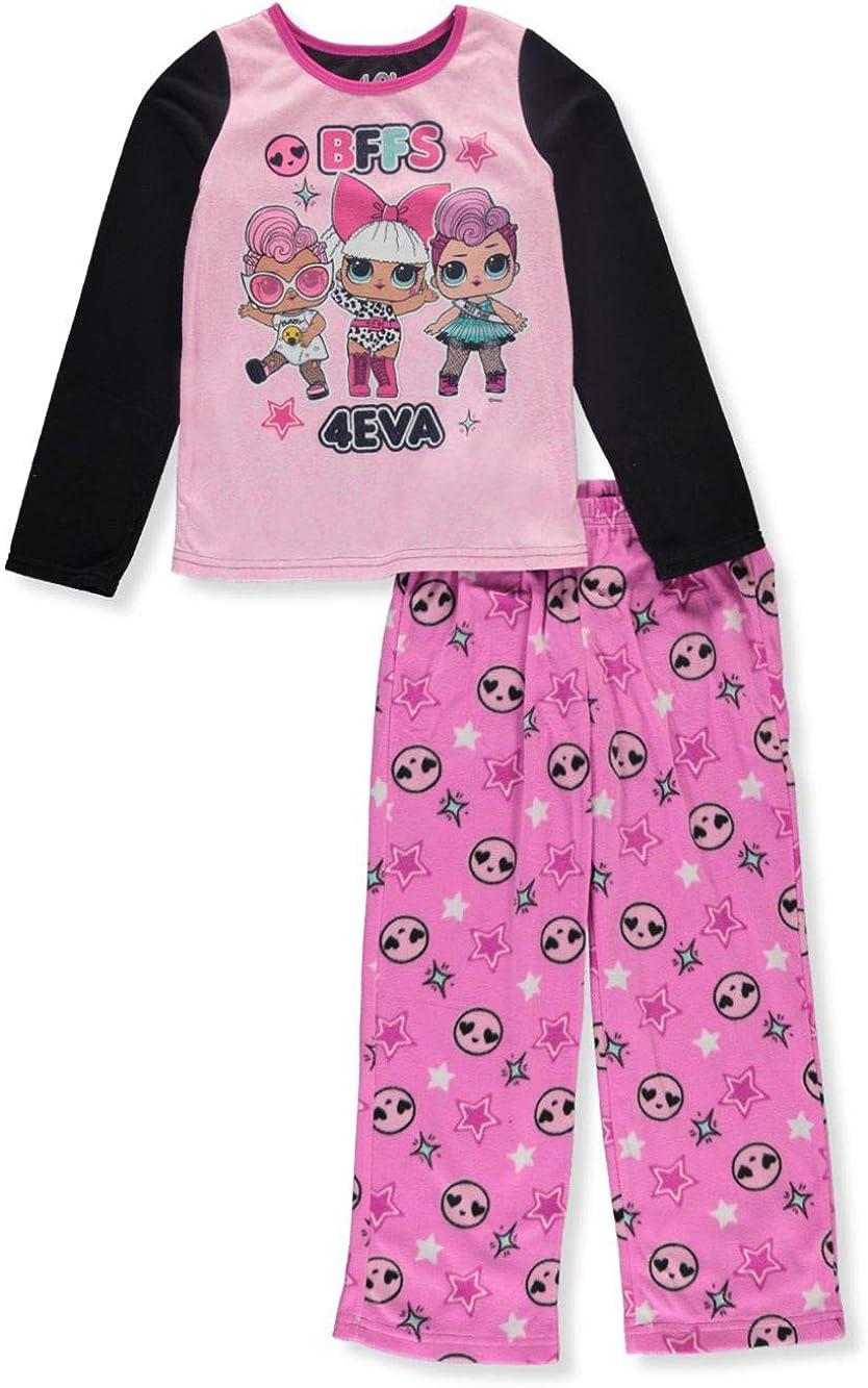 L.O.L. Surprise! Girls' 2-Piece Pajama Set (4, BFF'S)