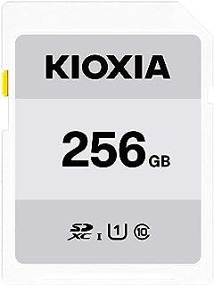キオクシア(KIOXIA) 旧東芝メモリ SDXCカード 256GB UHS-I対応 Class10 (最大転送速度50MB/s) 日本製 国内正規品 3年保証 Amazon.co.jpモデル KTHN-NW256G