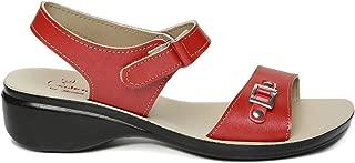 PARAGON SOLEA Women's Maroon Sandals