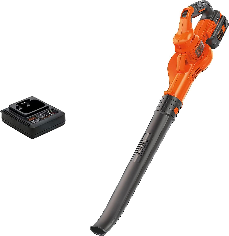 BLACK+DECKER 40V MAX Cordless Sweeper (LSW40C) : Garden & Outdoor