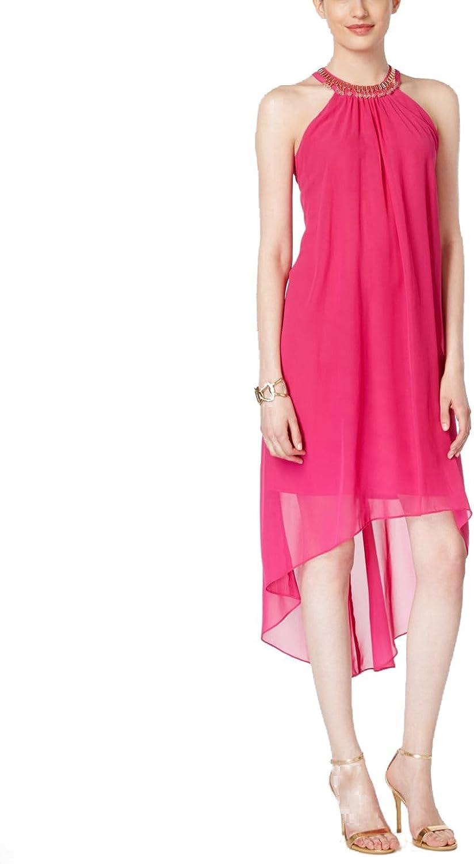 Sl Fashions Embellished HighLow Dress
