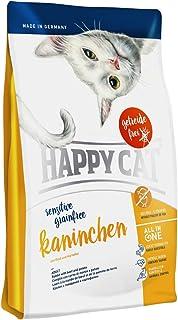 HAPPY CAT センシティブ グレインフリー カニンヘン (ラビット&ビーフ) 穀物不使用 全猫種 成猫〜高齢猫用 (300g)