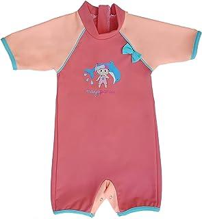 26f1d034cb5bb MayoParasol - Peachy Combinaison Maillot Anti UV Plage bébé Fille