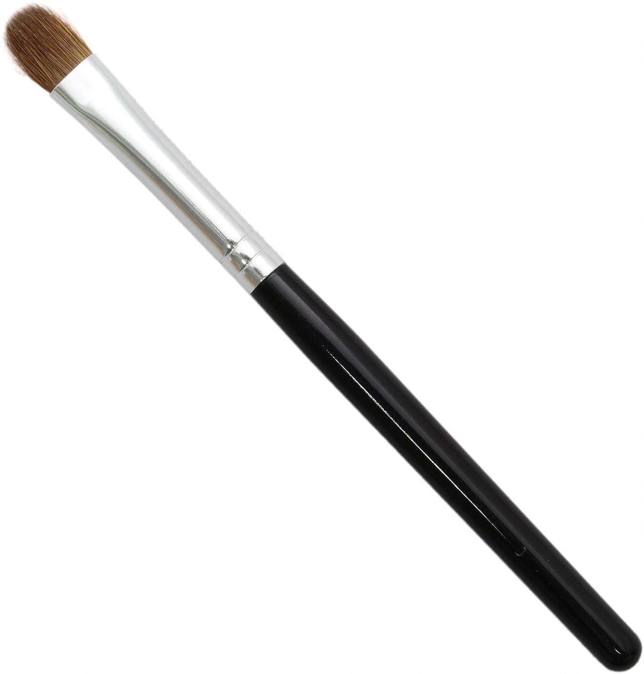 明るい絶滅写真熊野筆 メイクブラシ KUシリーズ アイシャドウブラシ 小 イタチ毛