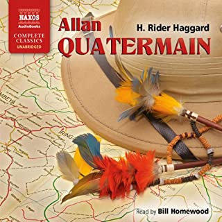Allan Quatermain                   By:                                                                                                                                 H. Rider Haggard                               Narrated by:                                                                                                                                 Bill Homewood                      Length: 12 hrs and 9 mins     20 ratings     Overall 4.2