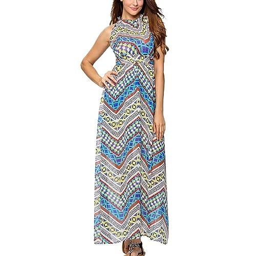 Nouveau Haut Imprimé Floral rapport robe longue recueillir Bandeau BOOBTUBE DRESS Tailles