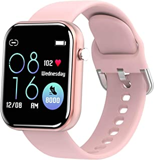 JessFash Deporte Reloj Inteligente Actividad Rastreador de Ejercicios Podómetro Impermeable Cardio Salud Ejercicio Reloj Inteligente Calorías Contador de Pasos Reloj Frecuencia cardíaca Monitor