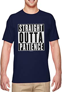 Haase Unlimited Straight Outta Patience - Fed Up Upset Men's T-Shirt