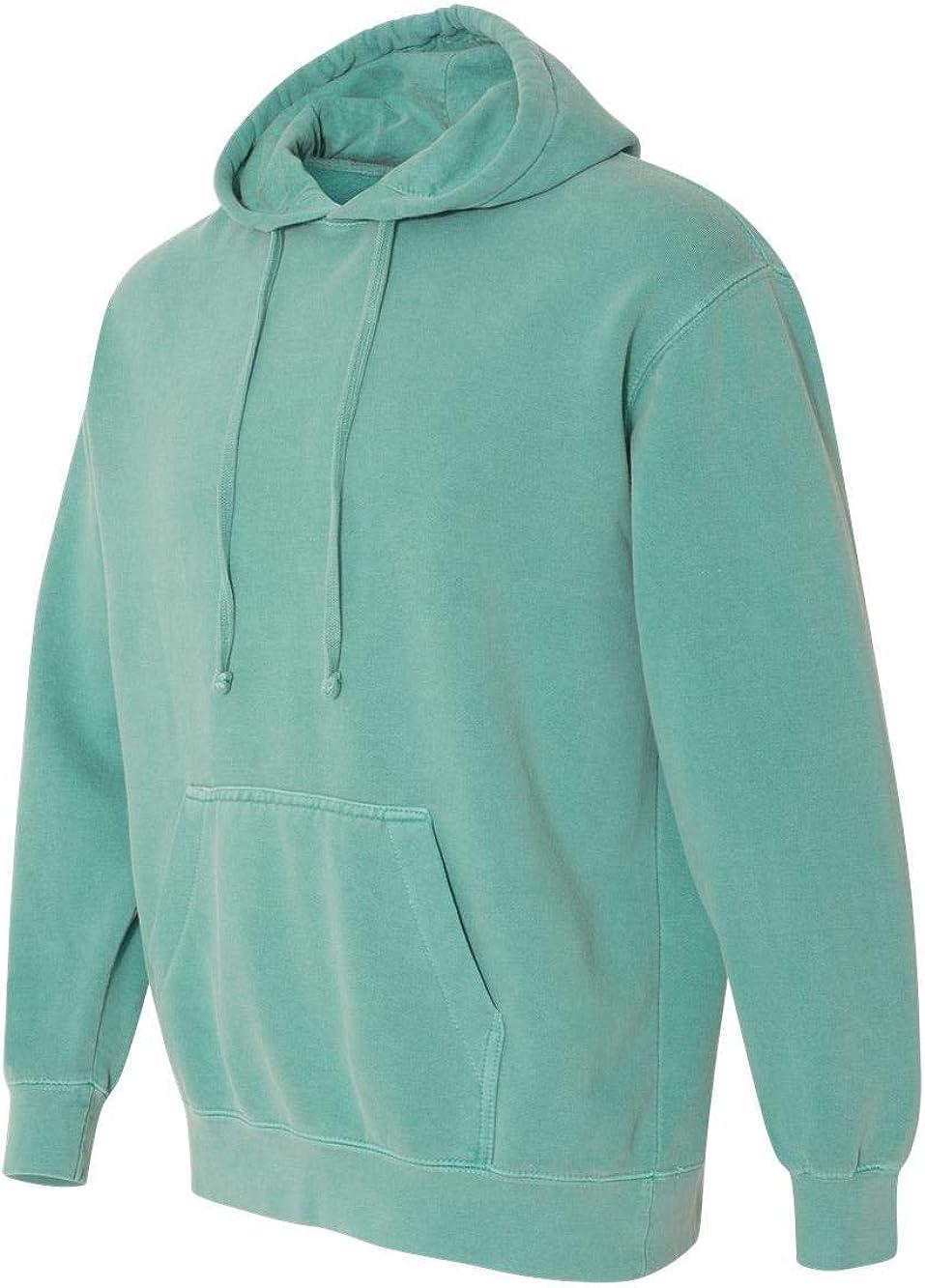 Comfort Colors - Garment-Dyed Hooded Sweatshirt - 1567 - 3XL - Seafoam
