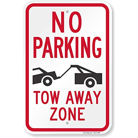 12x18 or 8x12 Aluminum Toyota J60 Land Cruiser 4X4 Reserved Parking Only Sign