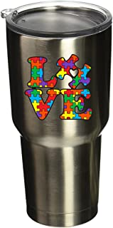 BOLDERGRAPHX 5077 Autism Awareness Puzzle Piece with Love 2.6