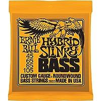 【1セット】ERNIE BALL/アーニーボール 2833[45-105] HYBRID SLINKY ベース弦