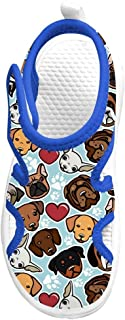 Dog Collection Sports Sandals Closed Toe Beach Water Park Water Shoes for Toddler/Children