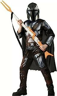 Rubies Mandalorian Star Wars Costume Kids Youth Sizes Dress Up Cosplay Halloween
