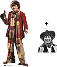 FAN PACK - The 4th Doctor Tom Baker Classic Doctor Who LIFESIZE CARDBOARD CUTOUT (STANDEE / STANDUP) - INCLUDES 8X10 (25X20CM) STAR PHOTO - FAN PACK #249