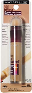 Maybelline Instant Age Rewind Eraser Dark Circles Treatment Concealer, Medium .2 oz (Pack of 4)