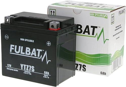 Fulbat - Batterie quad YTZ7S étanche AGM 12V / 6Ah