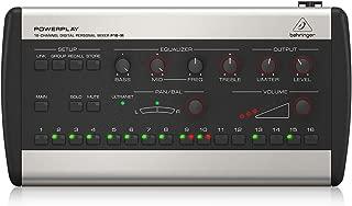 BEHRINGER P16-M 16-Channel Digital Personal Mixer Black & Grey, (P16M)
