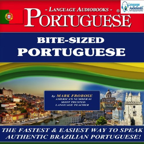 Bite-Sized Portuguese (Brazilian) audiobook cover art