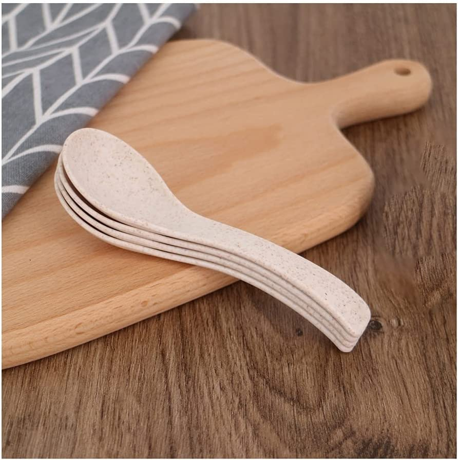 67% OFF of fixed Memphis Mall price Dessert spoon PP Material Spoon Eating Coffee S Soup