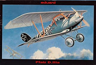 Eduard 1:48 Pfalz D.IIIA Late Version Biplane Plastic Model Kit #8044
