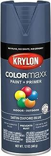 Krylon K05571007 COLORmaxx Spray Paint, Aerosol, Oxford Blue