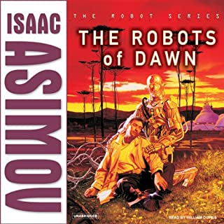 The Robots of Dawn audiobook cover art