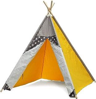 SHWYSHOP Tält för camping tält barn inomhus slott lekstuga baby vandringstält utomhus camping tipi-tält för backpacki