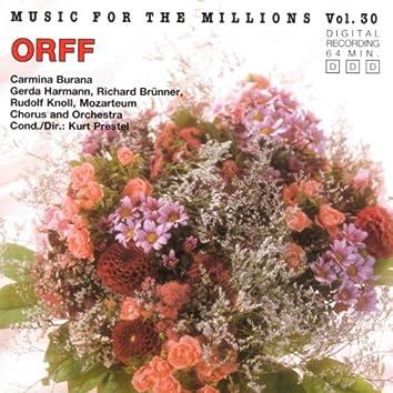 Music For The Millions Vol. 30 - Carl Orff: Carmina Burana