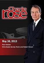 Charlie Rose - Paul Volcker; Chris Dodd, Barney Frank and Robert Kaiser May 30, 2013