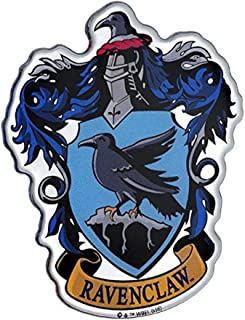 Fan Emblems Ravenclaw Crest Car Decal Domed/Multicolor/Chrome Finish, Harry Potter Automotive Emblem Sticker Easily Applies to Cars, Trucks, Motorcycles, Laptops, Cellphones, Windows, Almost Anything