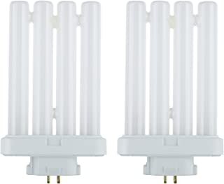 Ciata 27W FML 4-Pin Quad Tube GX10Q-4 6500K Daylight Compact Fluorescent Bulb (2 Pack)