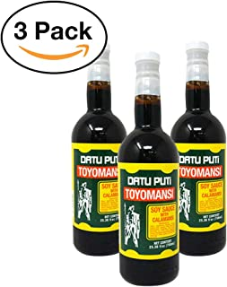 Toyomansi (Soy Sauce with Calamansi) - 750ml (Pack of 3)