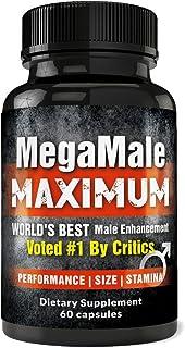 MegaMale Maximum - Men`s Booster Pills #1 Rated