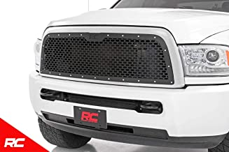 Rough Country Custom Black Mesh Grille (fits) 2013-2019 RAM Truck 2500 3500 70150