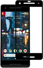 Plus 3D Curved Full Screen Tempered Glass Screen Protectr for Google Pixel 2 - Black