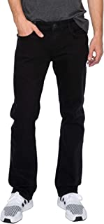RING OF FIRE Men's 5 Pockets Straight Denim Stretch Jeans