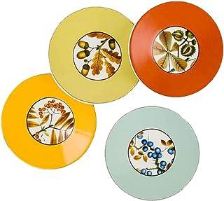 Set of 4 Phocacia Tropical Appetizer Plates