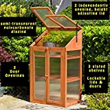 Rowlinson Hardwood Cold frame