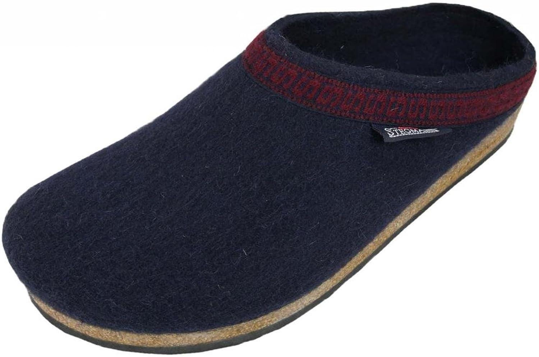 Stegmann Men's Wool Clog, Navy
