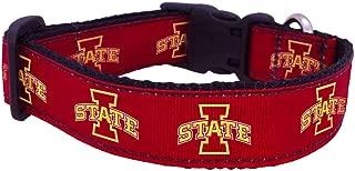 NCAA Iowa State Cyclones Dog Collar (Team Color, Medium)