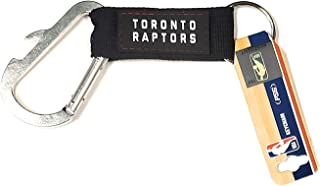 Pro Specialties Group Toronto Raptors Keychain Carabiner Wordmark