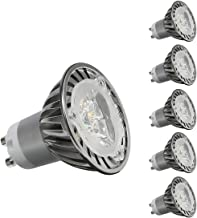CYLED 3W Gu10 Led Bulbs,Dimmable 50W Halogen Bulbs Equivalent, 350Lm, Warm White,3000K, 45 Beam Angle, Led Light Bulbs, Pa...