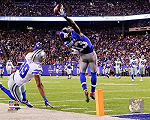 New York Giants Odell Beckham Jr. Makes The Catch of a Lifetime! 8x10 Photo. (Horizontal) mf