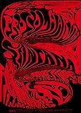 World of Art Global Konzert-Poster, Vintage-Stil, Procol