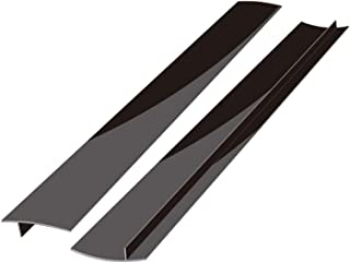 Kitchen Silicone Stove Counter Gap Cover, Easy Clean Heat Resistant Wide & Long Gap Filler, Seals Spills Between Counter, ...