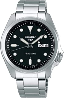 Seiko Sport 5 Facelift Automatic Stainless Steel Watch SRPE55K1 Black