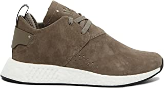 Mens NMD C2 Light Grey White Nubuck Trainers 10 US