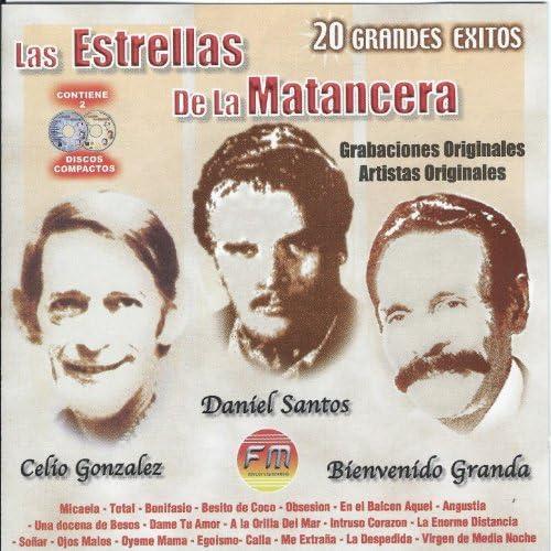 Daniel Santos, Celio Gonzalez & Bienvenido Granda