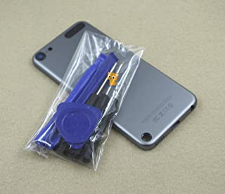 Space Grey Gray Metal Back Rear Housing Case Cover Backplate Shell Repair Replacement for Ipod Touch 5th Gen 32gb 64gb